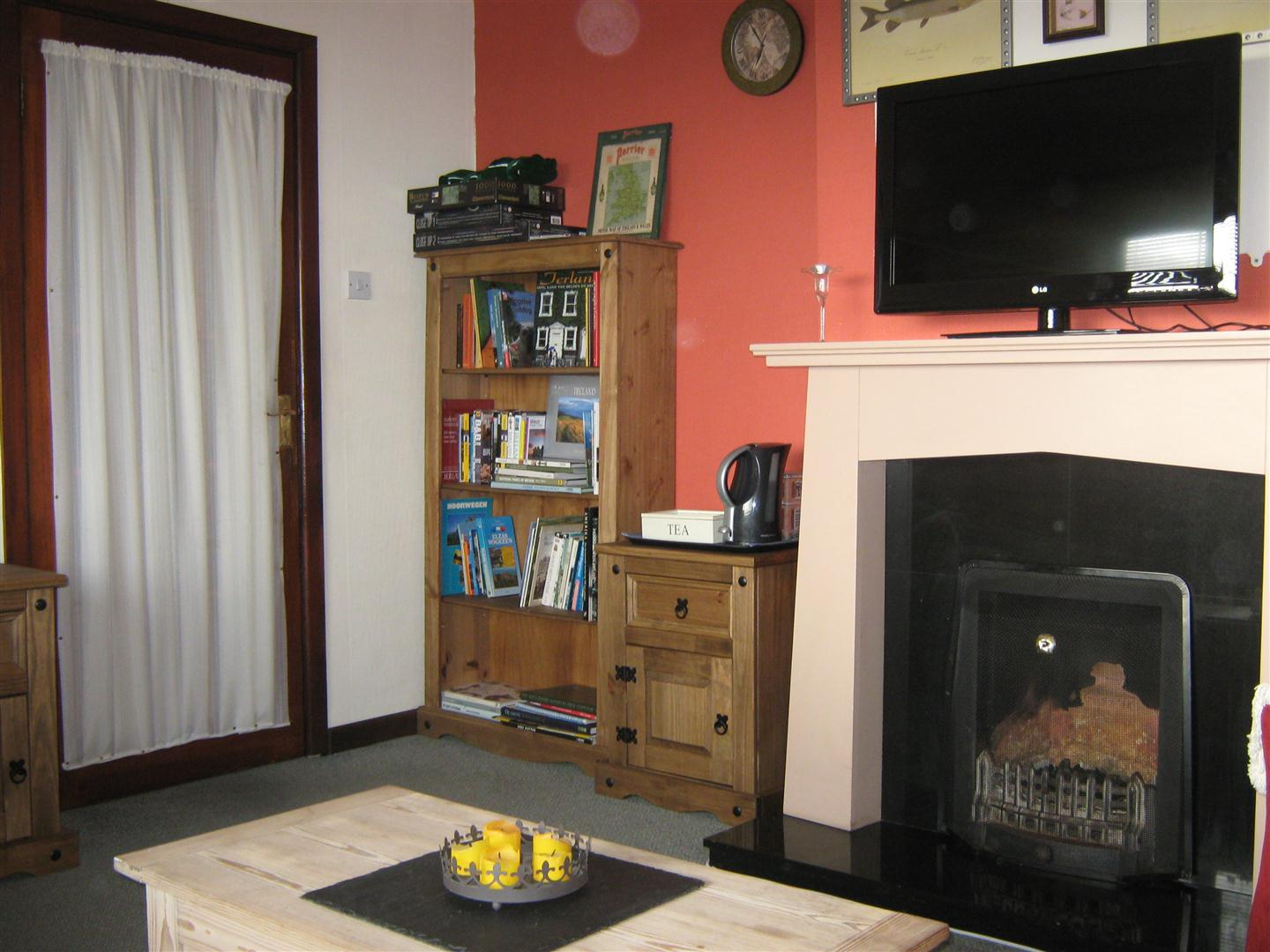 Slieve Elva Bed and Breakfast fire